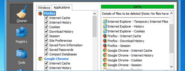 xóa dấu vết duyệt web lịch sử trình duyệt phục hồi