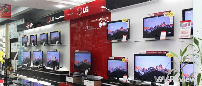 Tại sao giá TV rẻ đến vậy?