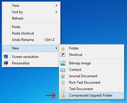file nén zip 7z 7-zip winrar winzip windows