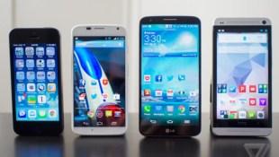 Thời lượng pin LG G2 vượt xa Galaxy S4, HTC One, iPhone 5s
