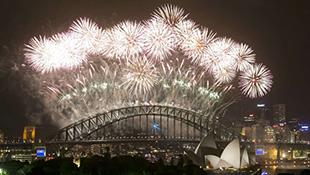 Đại tiệc pháo hoa hoành tráng trên toàn thế giới