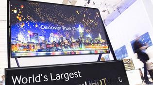 Samsung bán ra tivi Ultra HD kích thước 110 inch