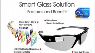 Rockchip sẽ trình làng kính thông minh tại CES 2014