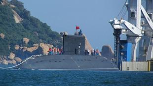 Video cận cảnh tàu ngầm Hà Nội trong quân cảng Cam Ranh