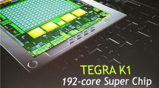 Nvidia giới thiệu bộ vi xử lý Tegra K1 có 192 lõi