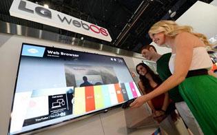 webOS sẽ xuất hiện trong 70% Smart TV 2014 của LG
