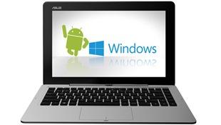 Máy tính bảng Asus chạy cả Android và Windows