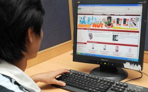 Hàng vạn website bán hàng có thể bị phạt từ 1/1/2014