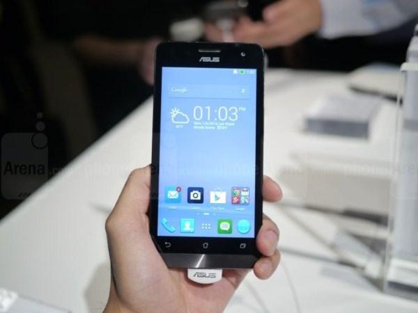 Trên tay điện thoại ASUS Zenfone 5