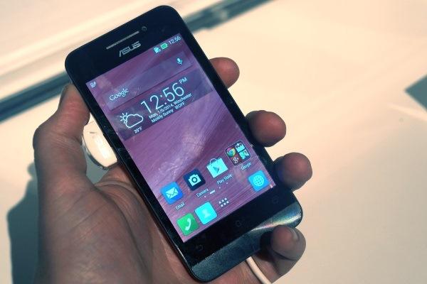 Trên tay điện thoại giá rẻ ASUS Zenfone 4