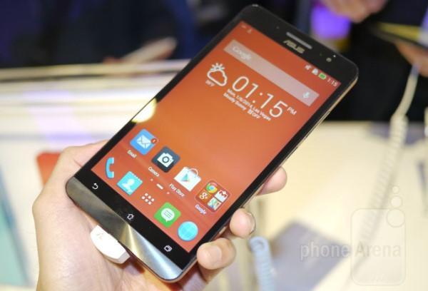 Trên tay phablet giá rẻ ASUS Zenfone 6