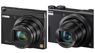 Bộ đôi máy ảnh Lumix với ống kính siêu zoom