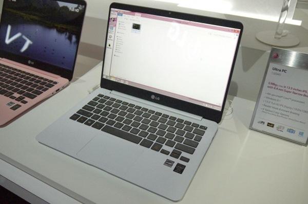 Trên tay Ultrabook LG Ultra PC
