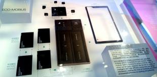 """Cận cảnh ZTE ECO-MOBIUS, mẫu điện thoại """"xếp hình"""" đầu tiên"""