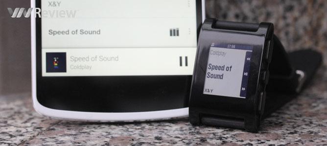 Đánh giá đồng hồ thông minh Pebble