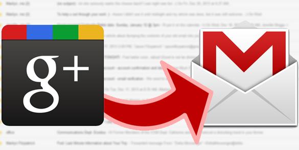 Tắt tính năng cho phép người lạ gửi email tới Gmail của bạn qua Google+