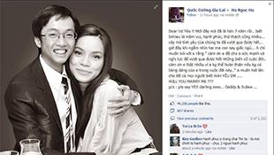 Facebook nóng chuyện Cường Đô la cầu hôn Hồ Ngọc Hà