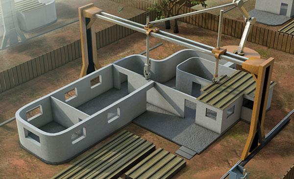 Xây nhà trong một ngày bằng máy in 3D