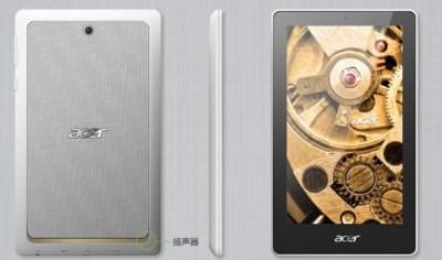 Acer ra máy tính bảng Android giá hơn 2 triệu