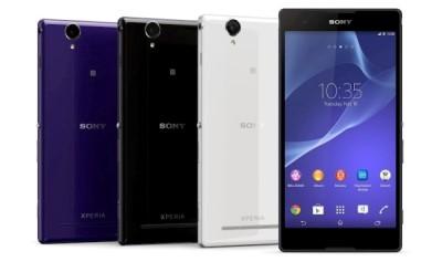 Bộ đôi Sony Xperia T2 Ultra: Màn hình 6 inch HD, chip lõi tứ