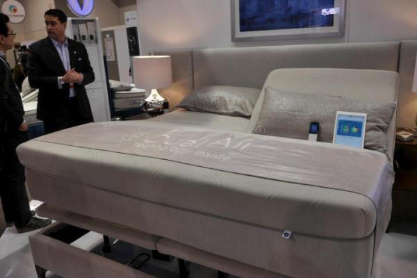 CES 2014: Đã có giường thông minh!