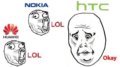 """Nokia, Huawei bắt tay """"ném đá"""" HTC One"""