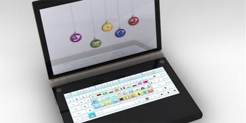 Laptop hai màn hình U-Book sắp ra mắt tại CES