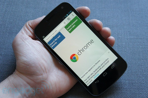 Chrome Mobile nén dữ liệu xuống còn một nửa, tiết kiệm phí 3G