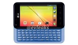 LG Optimus F3Q hoài cổ với bàn phím QWERTY