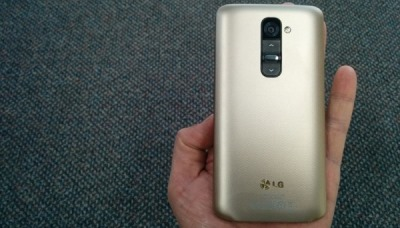 Ảnh thực tế LG G2 vàng Champagne đầu tiên tại Việt Nam