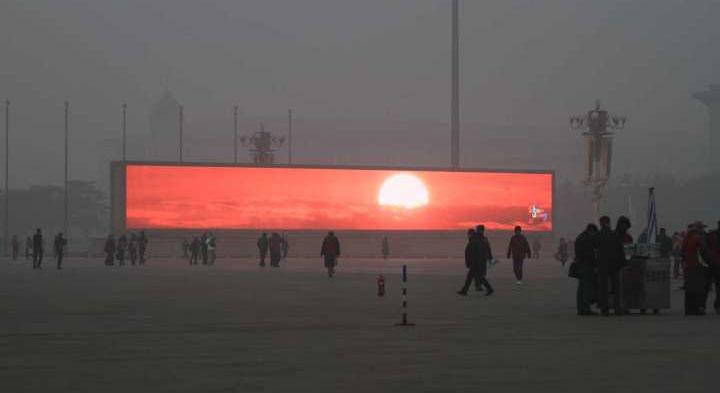 Dân Bắc Kinh phải sống với bình minh giả