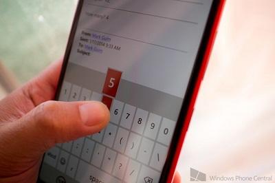 Các thủ thuật đánh máy nhanh trên Windows Phone