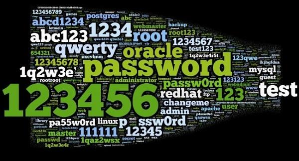 25 mật khẩu tệ nhất của năm 2013