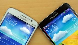 Galaxy Grand 2 đặt cạnh Galaxy Note 3