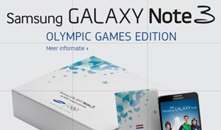 Galaxy Note 3 Olympic Games Edition sẽ là quà tặng miễn phí