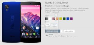 Nexus 5 sẽ có thêm 6 màu mới?