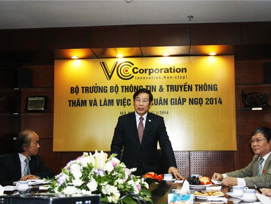 VCCorp tuyên bố cạnh tranh trực diện với Google, Facebook