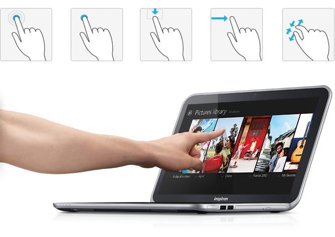 Có nên mua laptop màn hình cảm ứng?