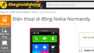 Nokia Normandy bất ngờ xuất hiện tại Việt Nam