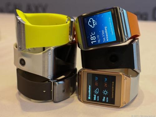 Galaxy Gear 2 có màn hình dẻo, ra mắt vào tháng Ba