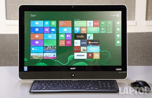 Đánh giá nhanh máy tính all-in-one Acer Aspire Z3