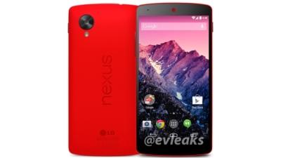 Lộ Nexus 5 màu đỏ