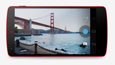 Nexus 5 màu đỏ chính thức ra mắt