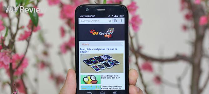 VnReview tặng bạn đọc điện thoại Moto G