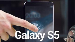 Màn hình Galaxy S5 sẽ tích hợp cảm biến vân tay