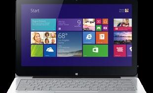Laptop biến hình VAIO Flip 11A chính thức lên kệ