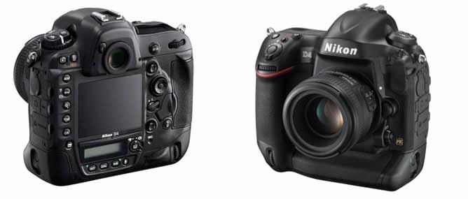 Nikon giới thiệu máy ảnh full-frame D4