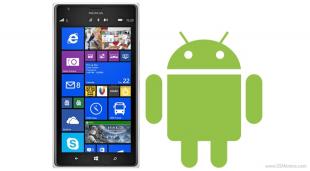 Điện thoại Windows Phone sắp chạy được ứng dụng Android