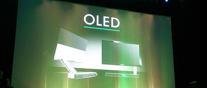 """TV OLED màn hình lớn """"hot"""" tại CES 2012"""