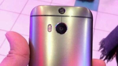 Ảnh thật HTC M8 với thiết kế nam tính